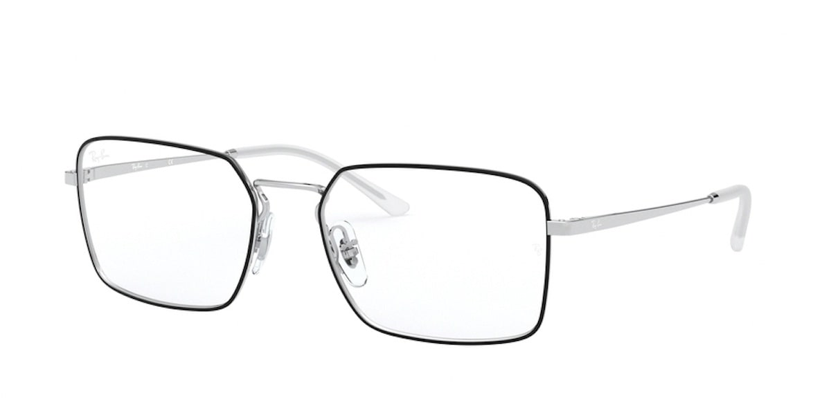 Ray-Ban RX6440 2983 - Top Black on Silver
