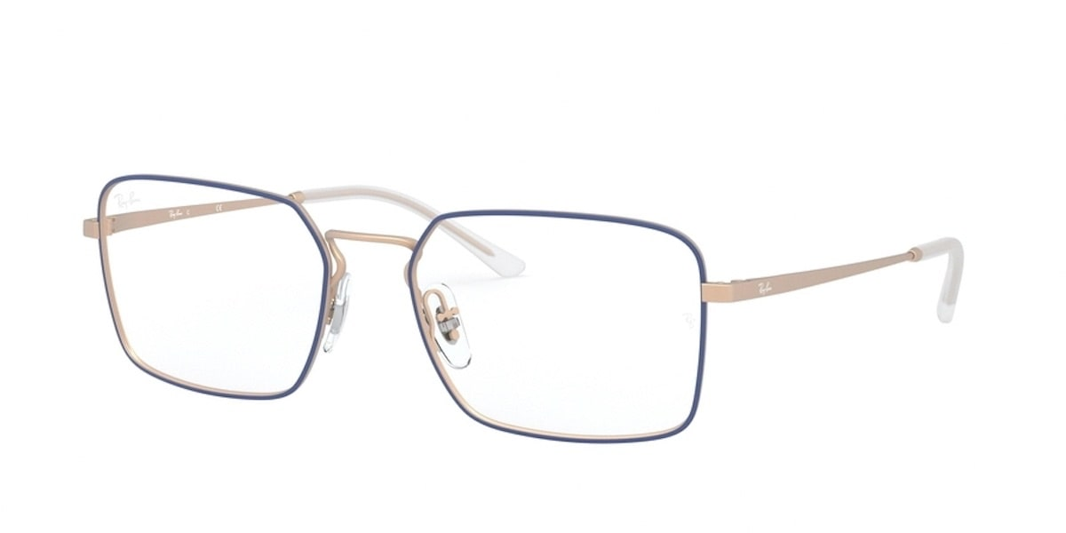 Ray-Ban RX6440 3053 - Matte Blue on Rubber Copper