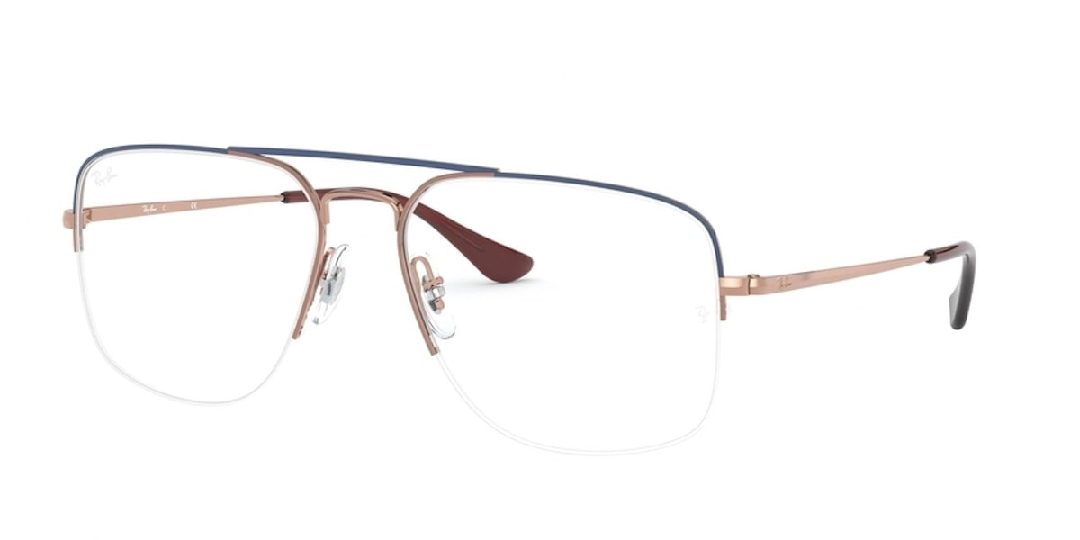 Ray-Ban RX6441 3049 - Top Blue on Copper