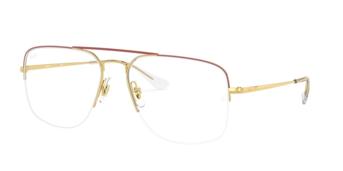 Ray-Ban RX6441 3050 - Top Amaranth on Gold
