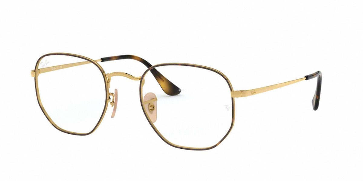 Ray-Ban RX6448 2945 - Top Havana on Gold