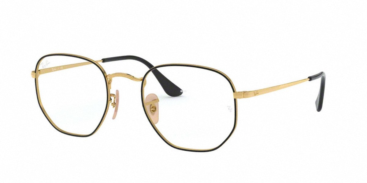 Ray-Ban RX6448 2991 - Top Black on Gold