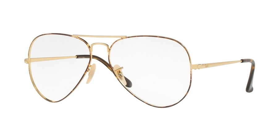 Ray-Ban RX6489 2945 - Gold on Top Havana