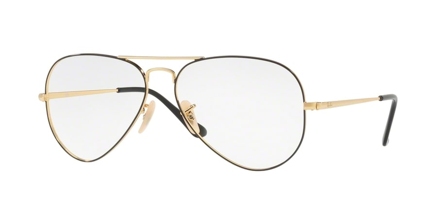 Ray-Ban RX6489 2946 - Gold on Top Black