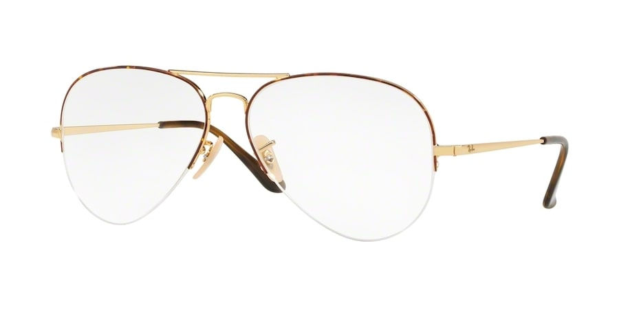 Ray-Ban RX6589 2945 - Gold on Top Havana