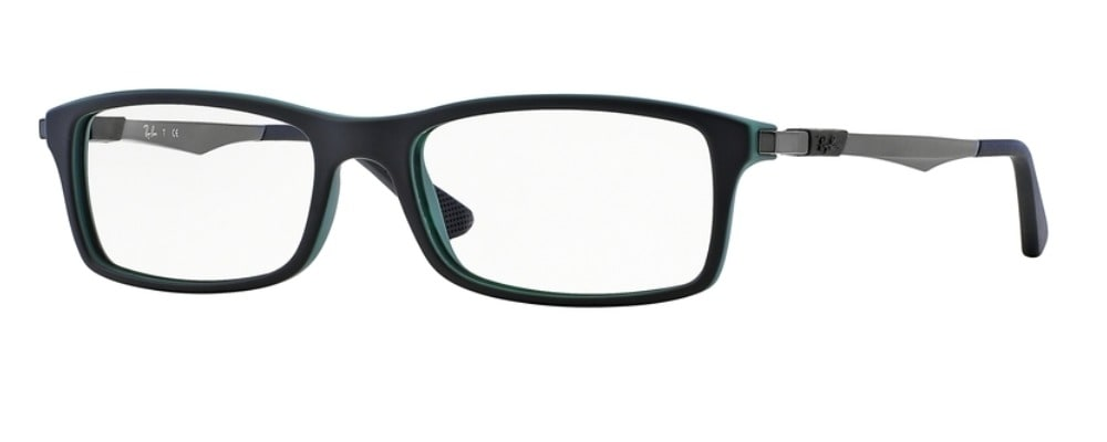 Ray-Ban RX7017 - 5197 Top Black on Green