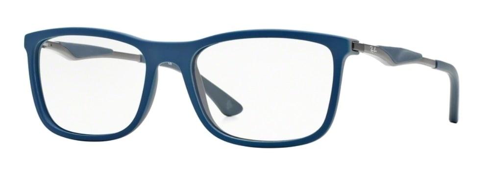 Ray-Ban RX7029 - Top Blue on Matte Dark Grey