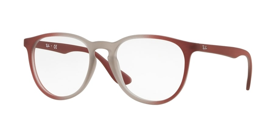 Ray-Ban RX7046 5819 - Light Brown on Bordeaux Gradient