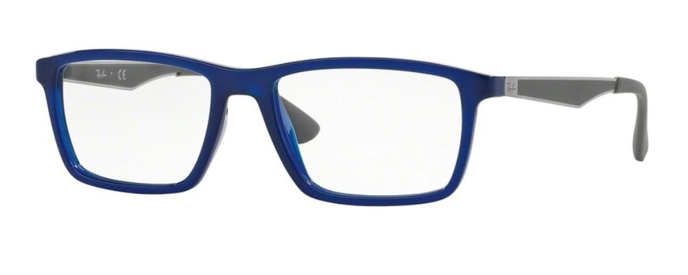 Ray-Ban RX7056 - 5393 Shiny Blue