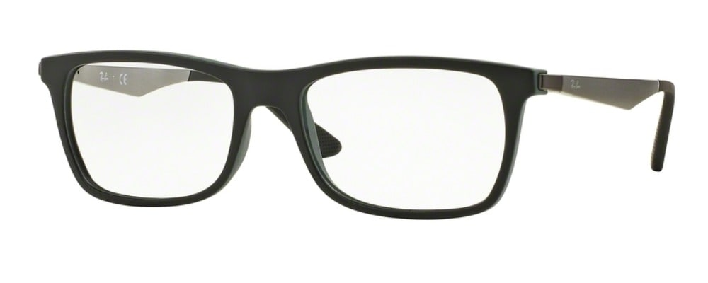 Ray-Ban RX7062 - 5197 Top Black on Green