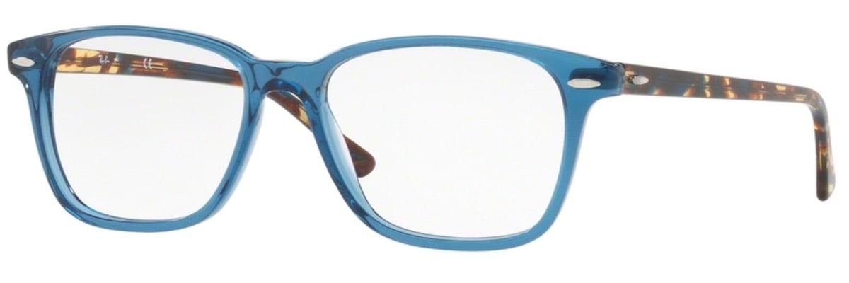 Ray-Ban RX7119F - 8024 Shiny Transparent Blue
