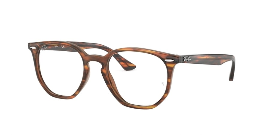 Ray-Ban RX7151F 5797 Havana Red / Brown