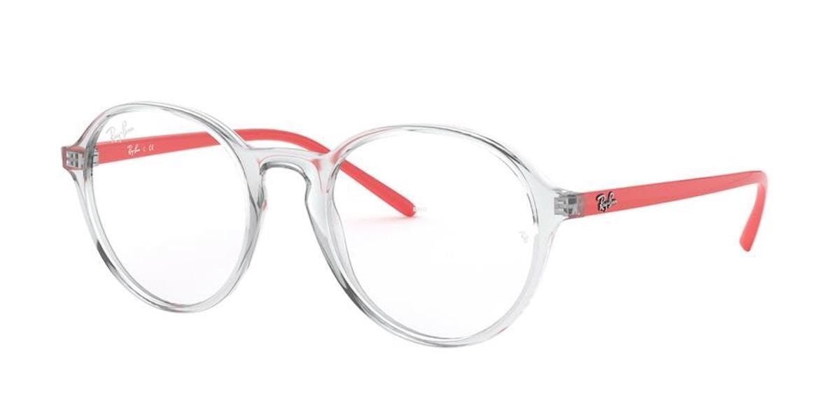 Ray-Ban RX7173 5950 - Transparent Red