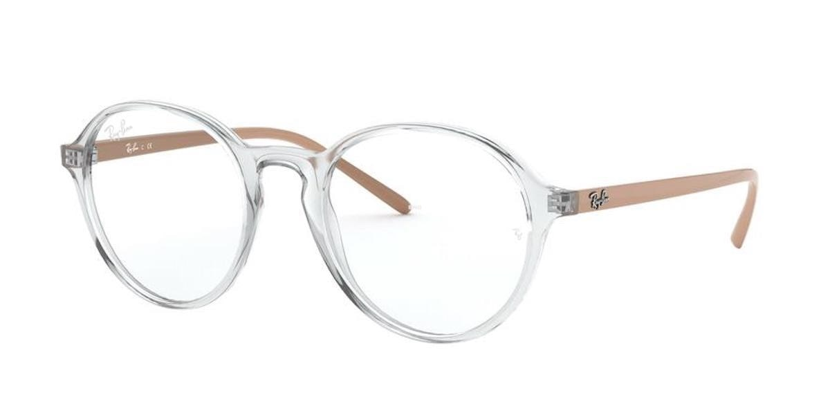 Ray-Ban RX7173 5953 - Transparent Beige