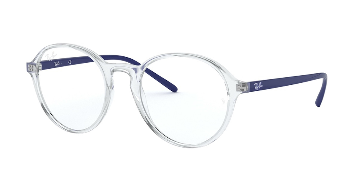 Ray-Ban RX7173F - 5964 - Transparent Blue