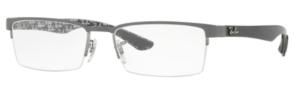Ray-Ban RX8412 - 2893 Gunmetal Top on Grey