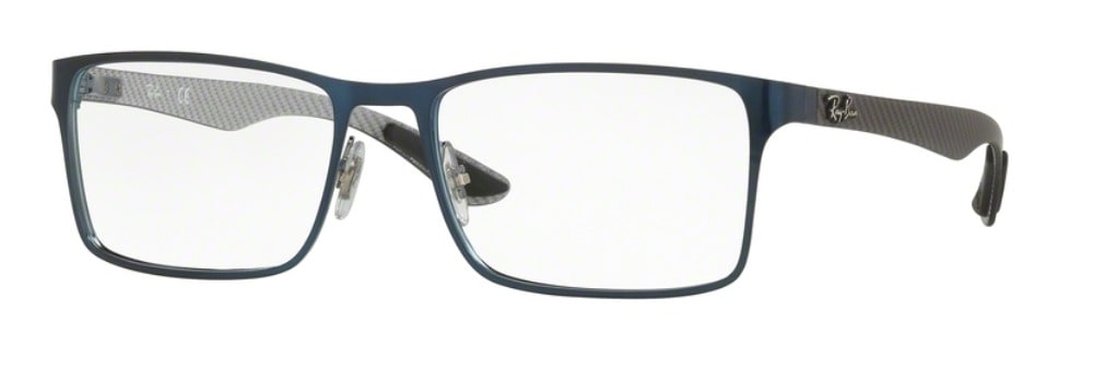 Ray-Ban RX8415 - 2881 Top Brushed Blue on Gunmetal