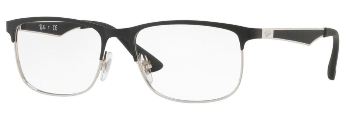 Ray-Ban RY1052 - 4055 Silver Top Matte Black
