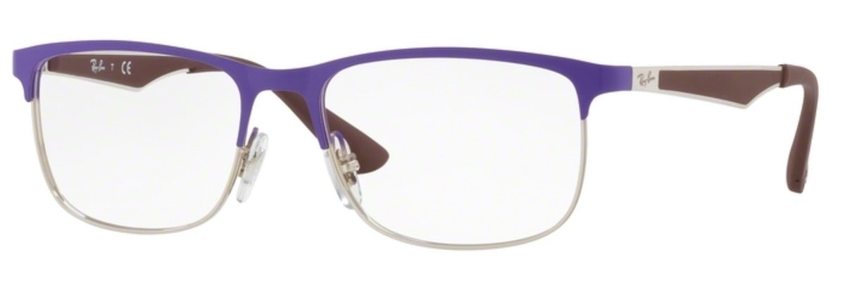 Ray-Ban RY1052 - 4056 Silver Top Matte Violet
