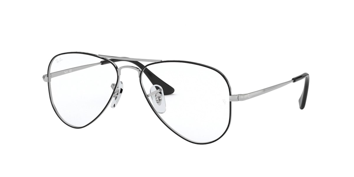 Ray-Ban RY1089 4064 - Silver on Top Black