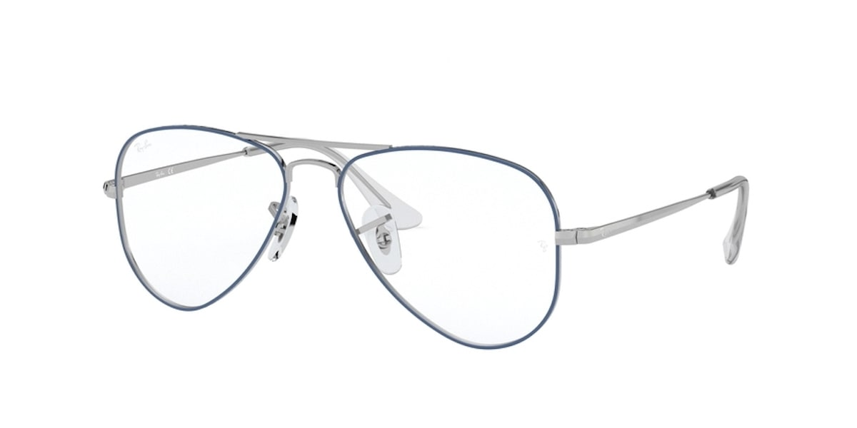 Ray-Ban RY1089 4074 - Silver on Top Light Blue