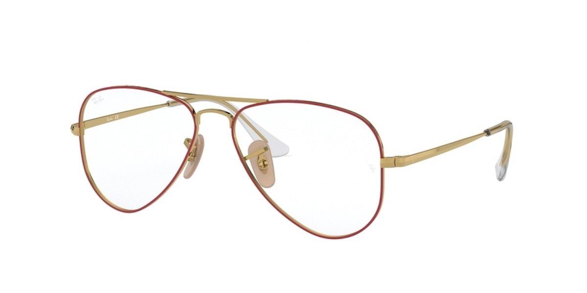 Ray-Ban RY1089 4075 - Gold on Top Red