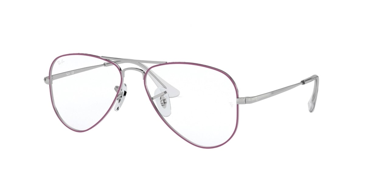 Ray-Ban RY1089 4076 - Silver on Top Violet