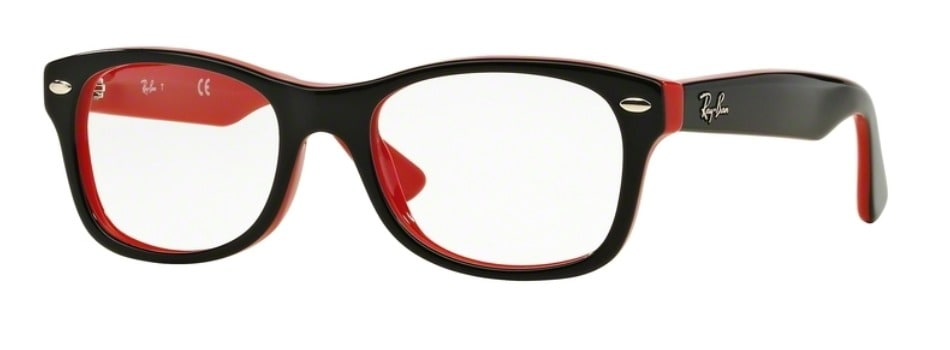 Ray-Ban RY1528 - 3573 Top Black on Red