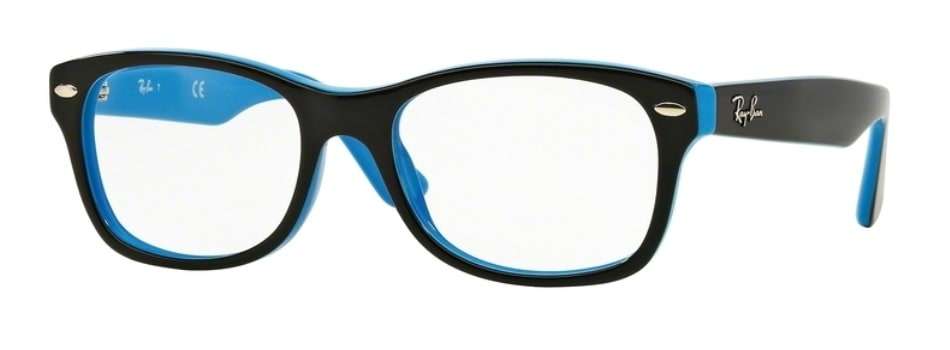 Ray-Ban RY1528 - 3659 Top Black on Azure