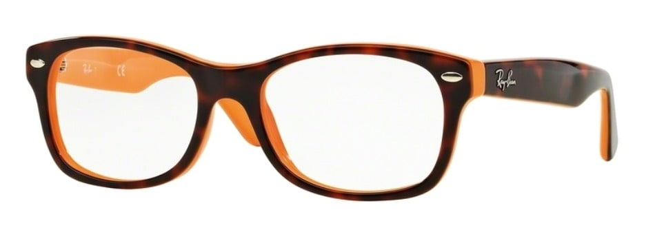 Ray-Ban RY1528 - 3661 Top Havana on Orange