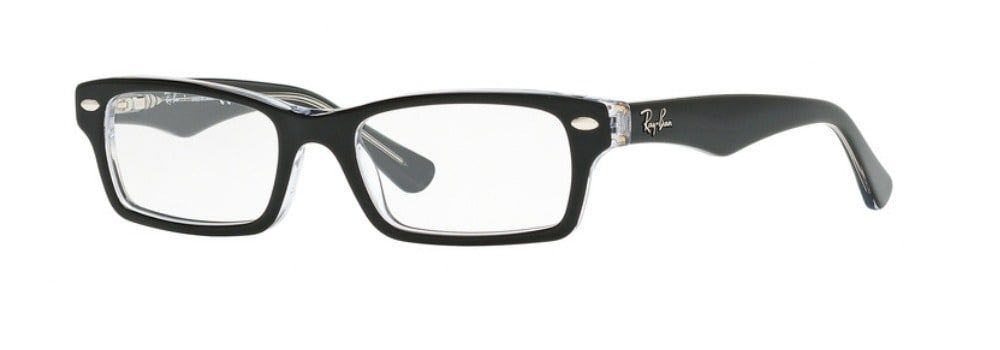 Ray-Ban RY1530 - 3529 Top Black on Transparent