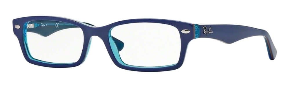 Ray-Ban RY1530 - 3587 Top Blue on Azure