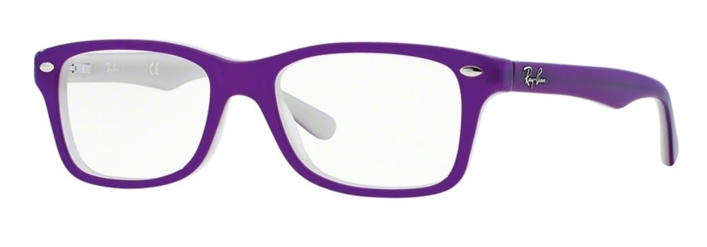 Ray-Ban RY1531 - 3591 Top Violet on Opal Ice