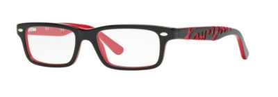 Ray-Ban RY1535 - 3573 Top Black on Red