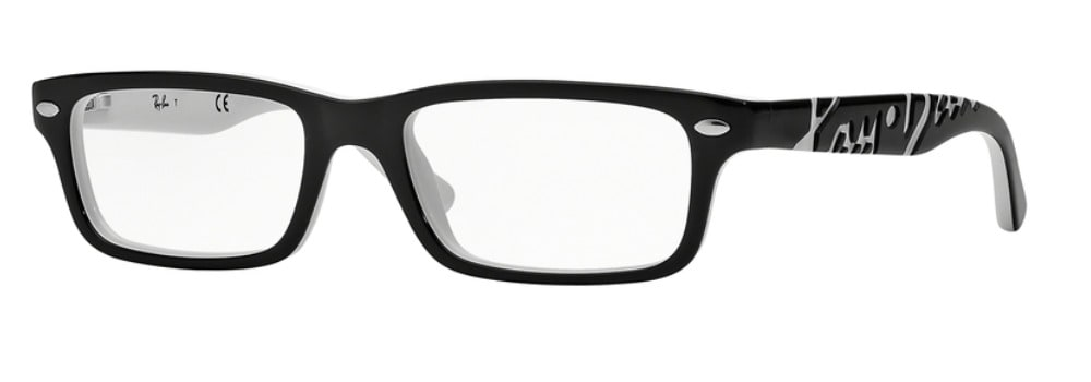 Ray-Ban RY1535 - 3579 Top Black on White