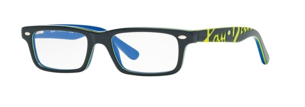 Ray-Ban RY1535 - 3600 Top Dark Grey on Blue