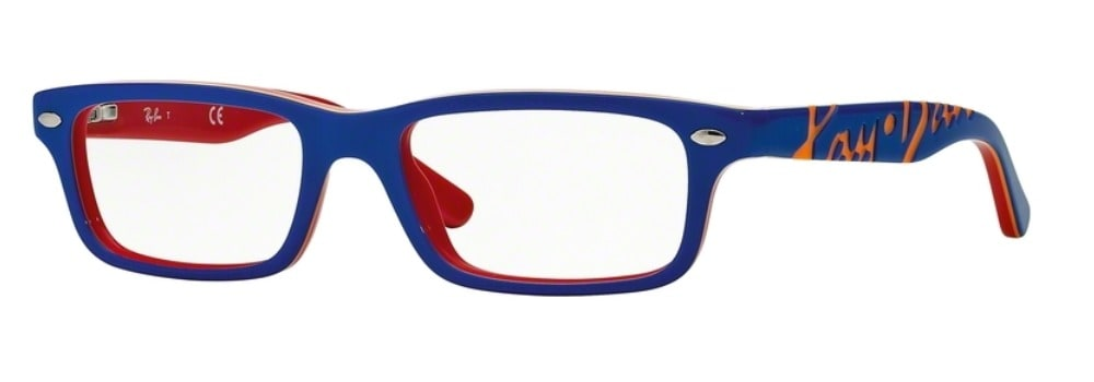 Ray-Ban RY1535 - 3601 Top Blue on Red