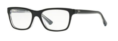 Ray-Ban RY1536 - 3529 Top Black on Transparent