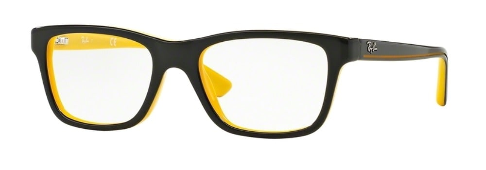 Ray-Ban RY1536 - 3660 Top Black on Yellow