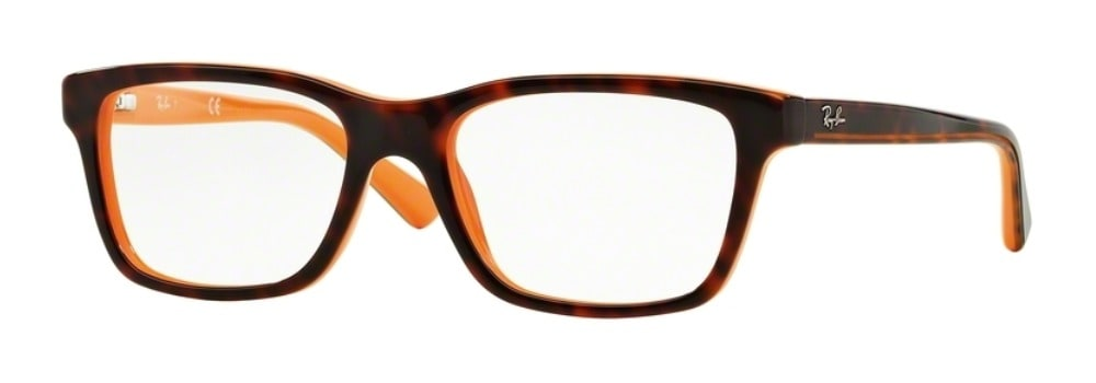 Ray-Ban RY1536 - 3661 Top Havana on Orange