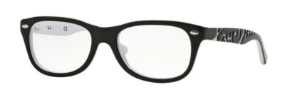 Ray-Ban RY1544 - 3579 Top Black on White
