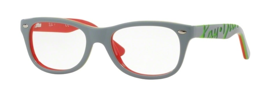 Ray-Ban RY1544 - 3630 Top Grey on Coral