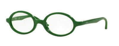 Ray-Ban RY1545 - 3636 Green on Rubber Green