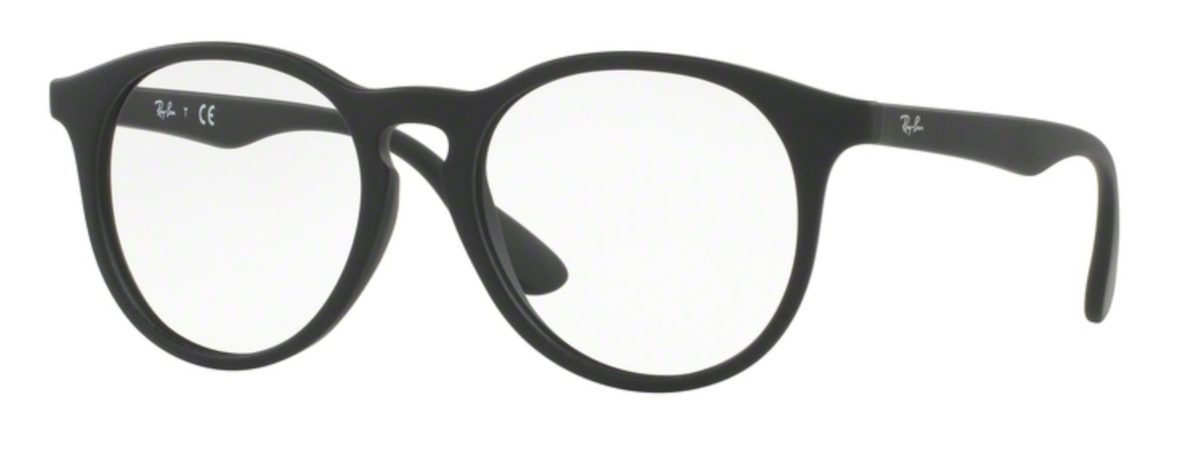 Ray-Ban RY1554 - 3615 Rubber Black