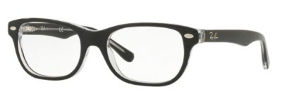 Ray-Ban RY1555 - 3529 Top Black on Transparent