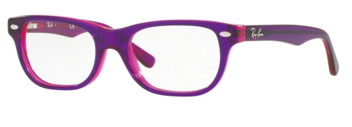 Ray-Ban RY1555 - 3666 Top Violet on Fuxia