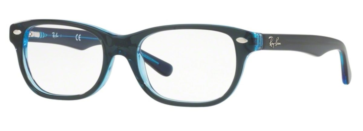 Ray-Ban RY1555 - 3667 Top Blue on Blue