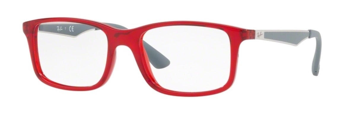 Ray-Ban RY1570 - 3723 Transparent Red