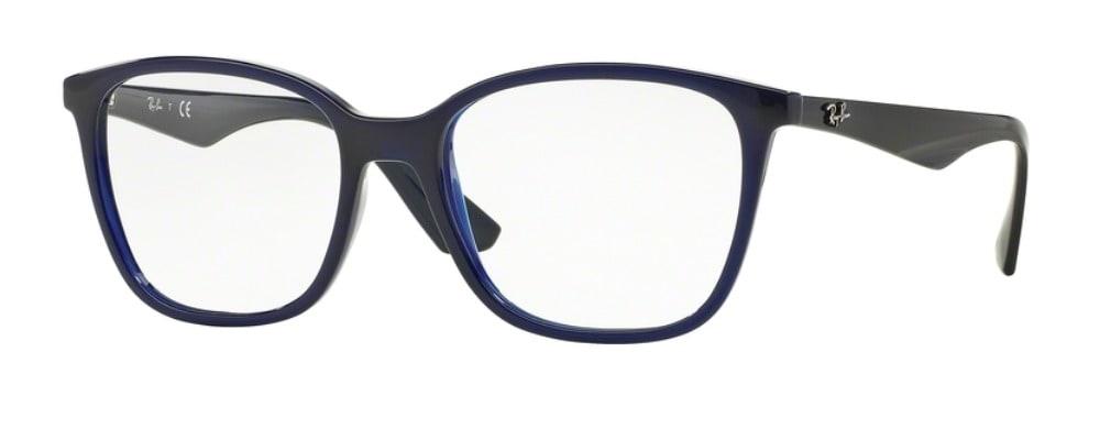 Ray-Ban RX7066 - 5584 Transparent Blue