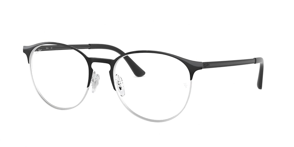 Ray-Ban RX6375 2861 - Black on Silver